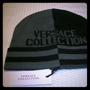 Versace Collection Knit Hat